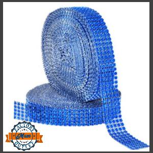 rhinestone roll royal blue