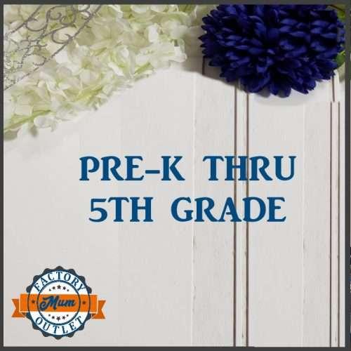Pre-K to 5th Grade