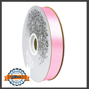 homecoming ribbon 7/8th pink