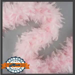 homecoming mum supplies feather boa