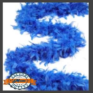 Feather Boa Blue