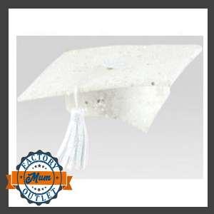 white graduation cap for bears